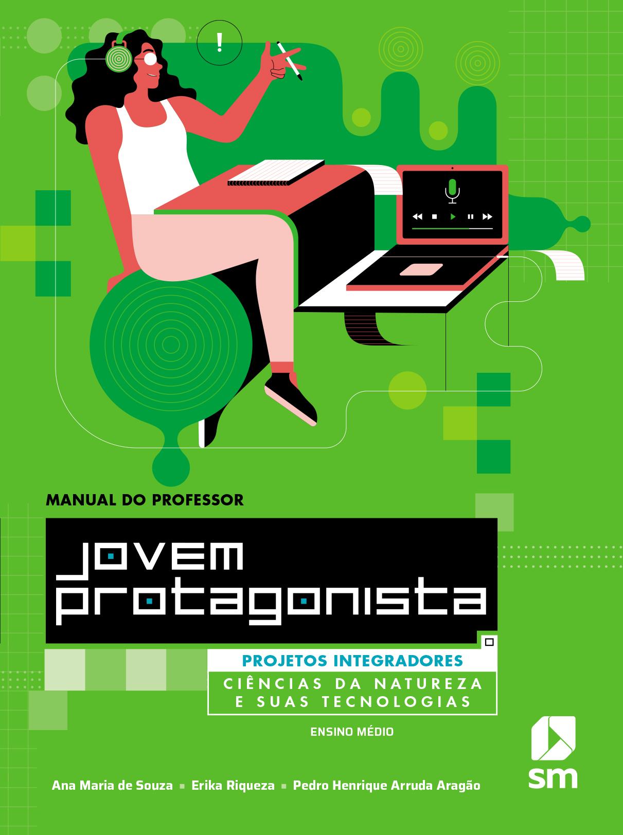 Capa do livro Ciências da natureza e suas tecnologias da coleção Jovem protagonista