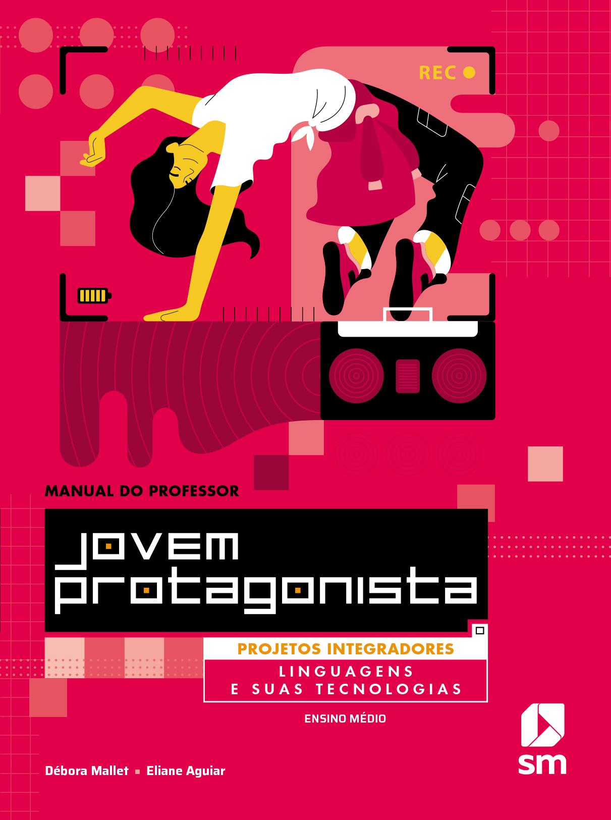 Capa do livro Linguagens e suas tecnologias da coleção Jovem protagonista