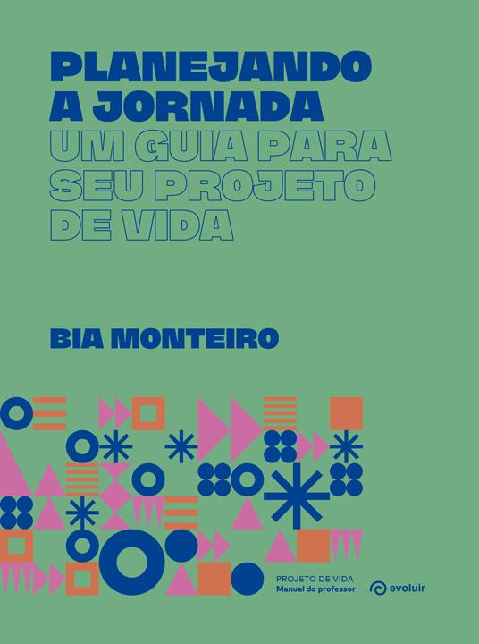 Capa do Livro Planejando a jornada - Manual do professor