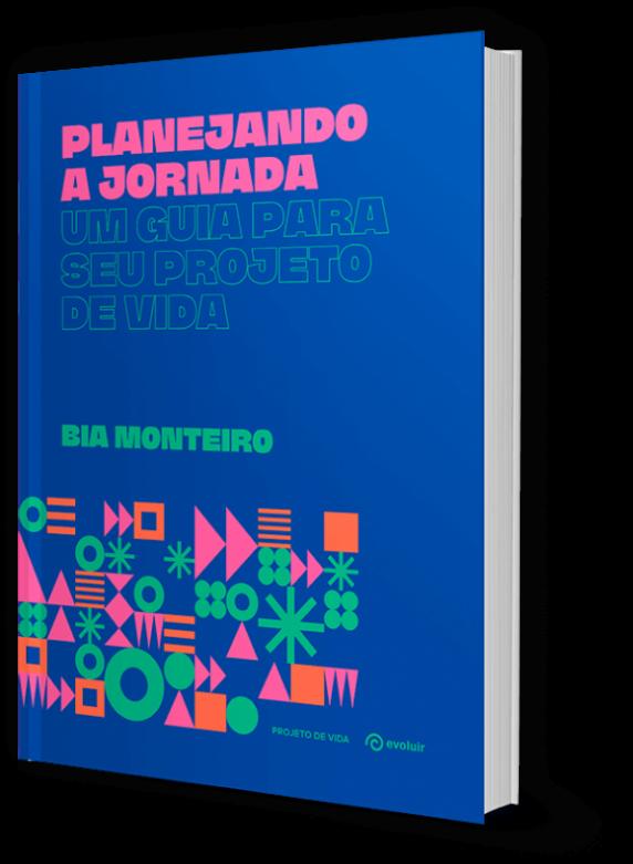 Capa do Livro Planejando a jornada - Projeto de vida
